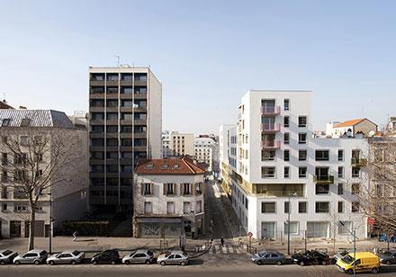 Rue Trouillet, Clichy-la-Garenne