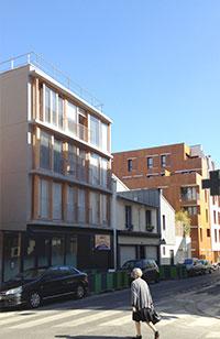 Ecoquartier Frequel-Fontarabie, Paris 20e