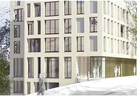 26 logements et 4 commerces, rue Marx Dormoy, Fontenay-Aux-Roses