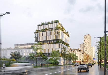 82 Logements Porte de Choisy, Paris 13e