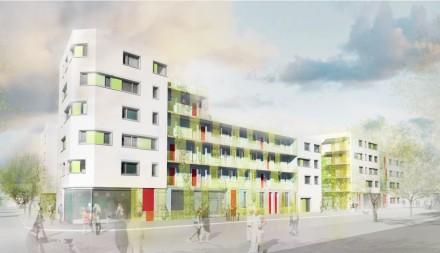 78 logements, îlot 9, écoquartier Monconseil, Tours