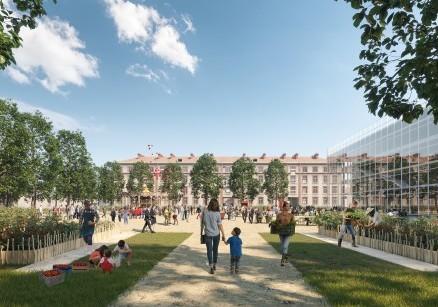 Restructuration du site Caserne Gudin, Montargis